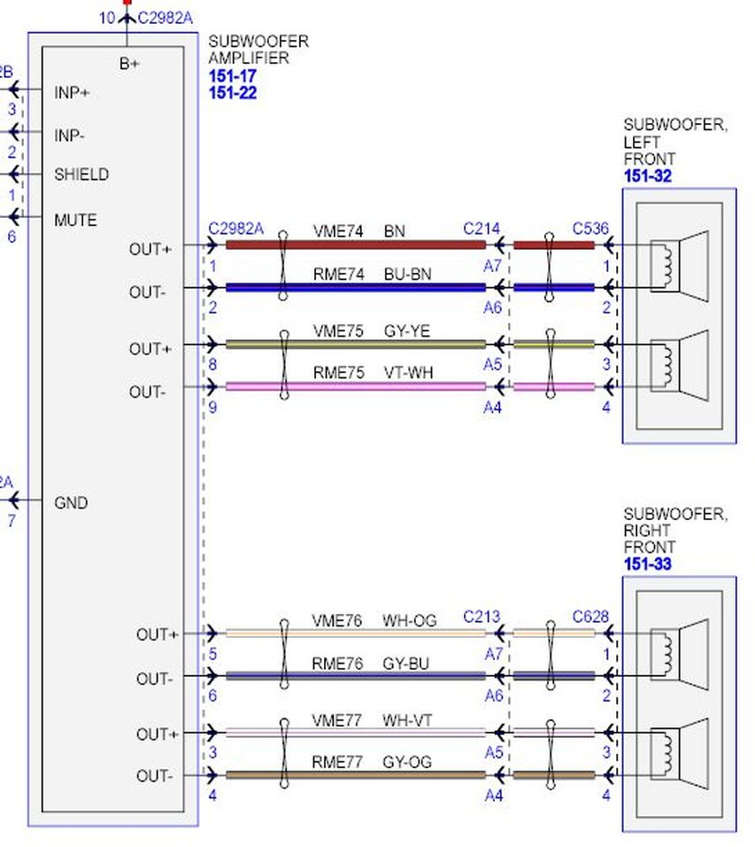 With Car Stereo Wiring Diagram Furthermore Subwoofer Wiring Diagram ...